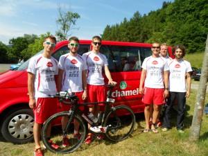 Das Tri Team wird von Schamel Meerrettich-Feinkost gesponsert.