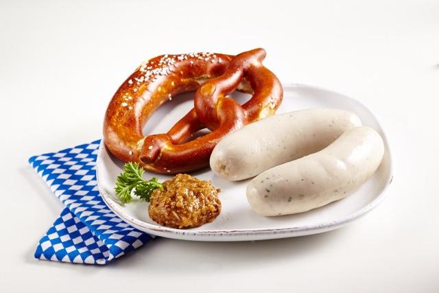 Schamel Meerrettich-Senf süss mit Weisswurst
