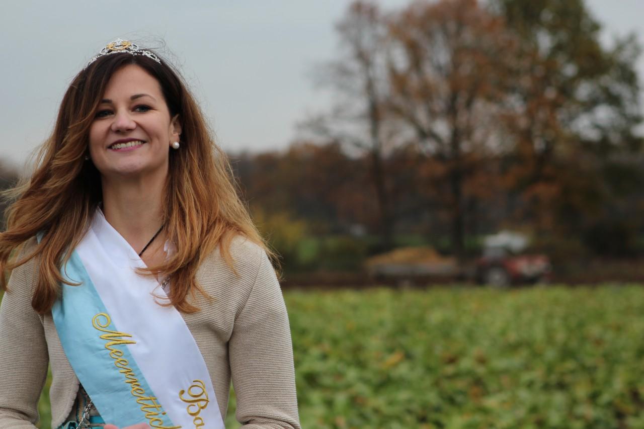 Kein Kren ohne Meerrettichkönigin: Auch Christine I. gab sich die Ehre.
