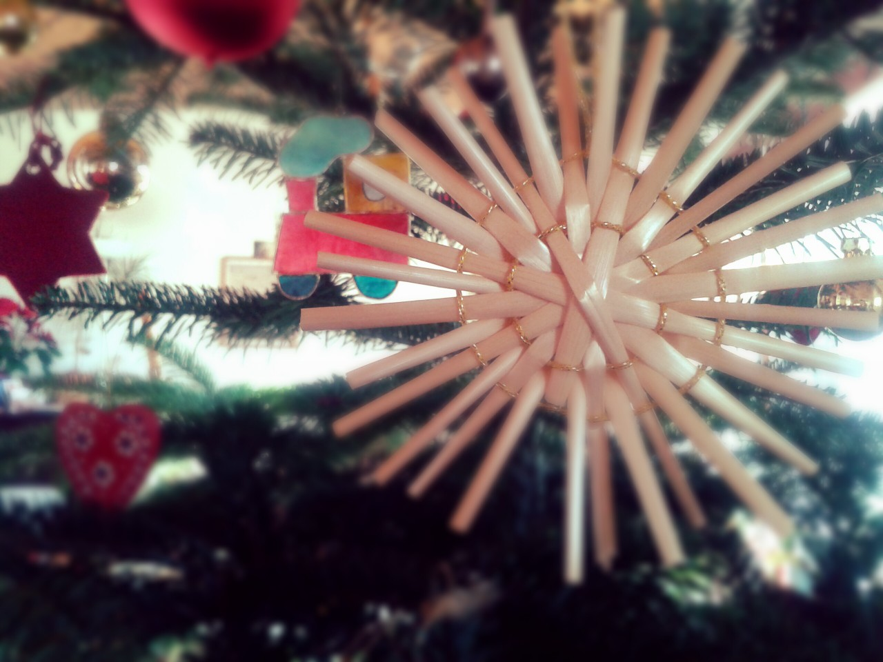 Früher war auch nicht mehr Lametta. Schamel wünscht frohe Weihnachten.