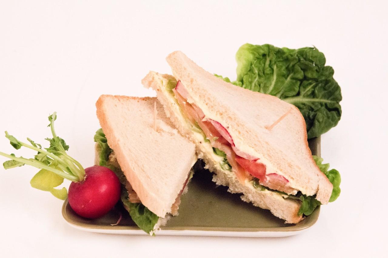 Meerrettich-Sandwich