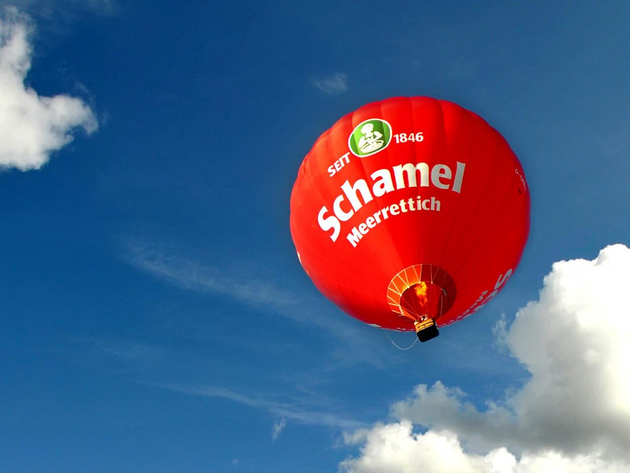 Schamel Meerrettich Heißluftballon