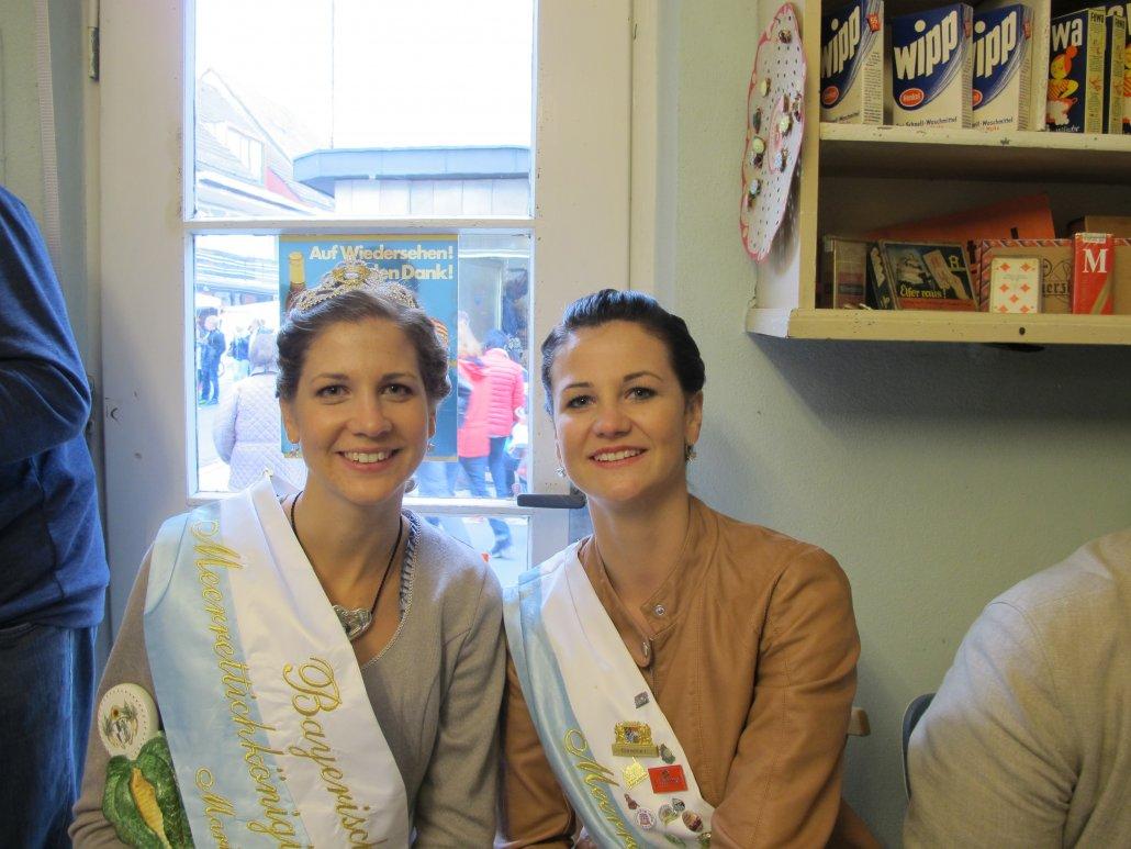Königinnen unter sich: die Schwestern Maria I. und Christine I. (C) Stadt Baiersdorf